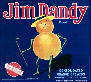jim dandy label