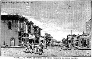 5th and main santa ana 1887