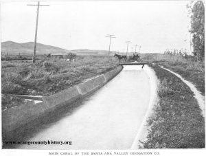 SAVI main canal 1913