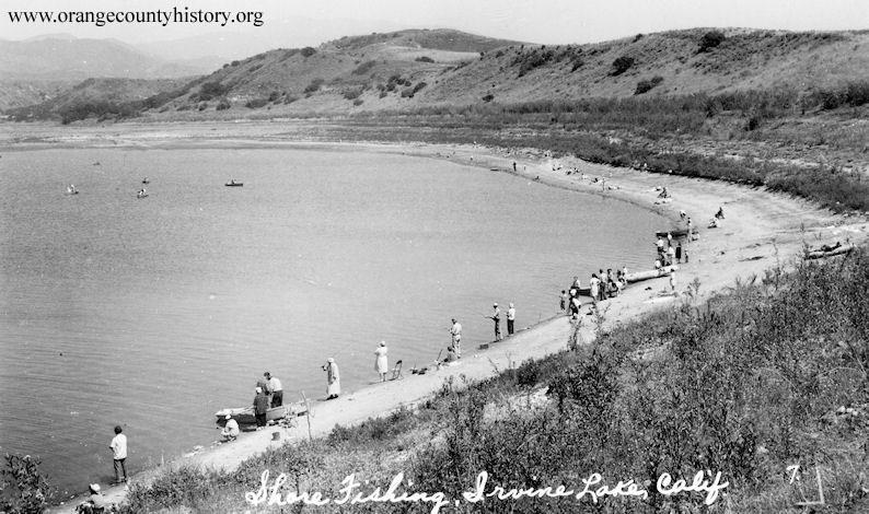 irvine lake 1940s