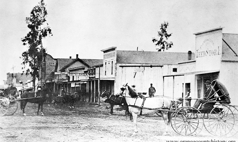 4th and main santa ana 1878